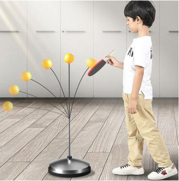 兒童彈力軟軸乒乓球訓練器