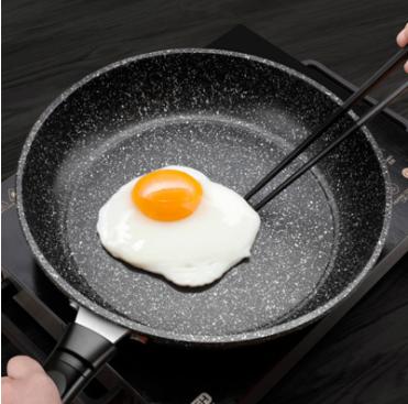 麥飯石平底鍋不粘鍋煎鍋