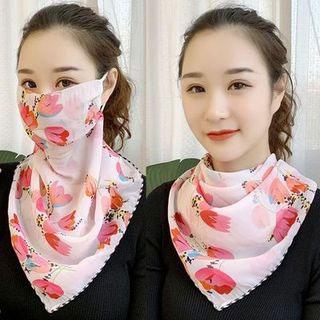春季防曬絲巾護頸面紗