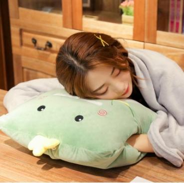 抱枕被子兩用靠枕內毯子