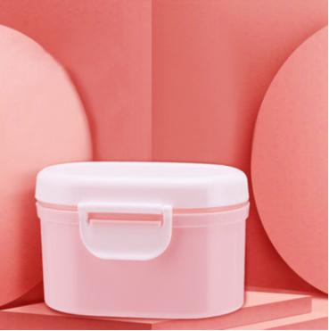 寶寶密封奶粉盒零食盒