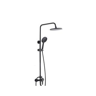 黑色淋浴花灑套裝