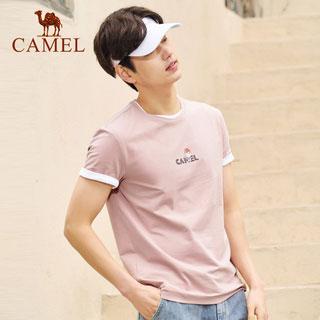 駱駝2020夏季短袖t恤