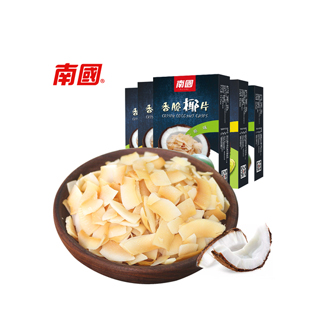 海南特产椰子片5盒
