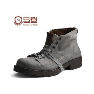 马登男士休闲鞋马丁靴