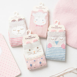 拍5件Caramella寶寶襪10雙