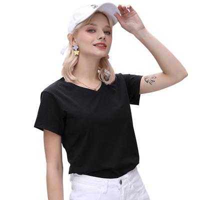 純棉修身t恤女短袖