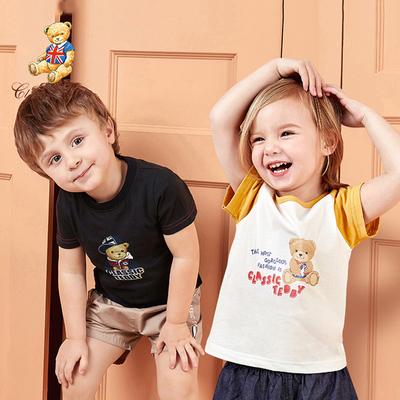 拍2件男童短袖純棉t恤