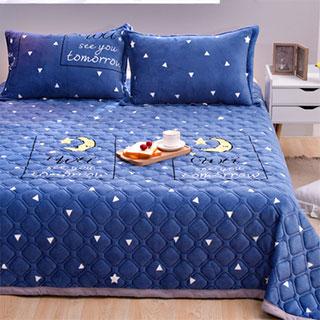 清倉法蘭絨夾棉毛毯床單