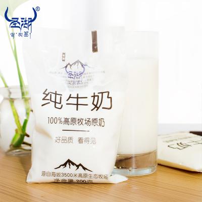 透明袋純牛奶200g*12袋