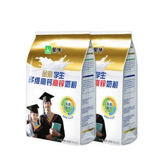 蒙牛学生奶粉400g*2袋