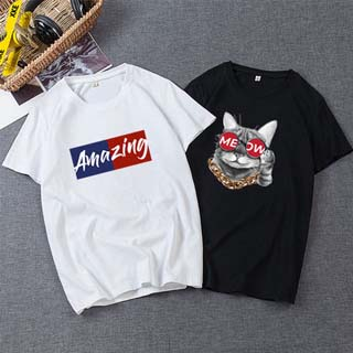 男士純棉短袖T恤