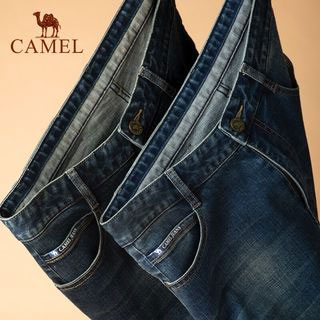 骆驼休闲新款修身牛仔裤