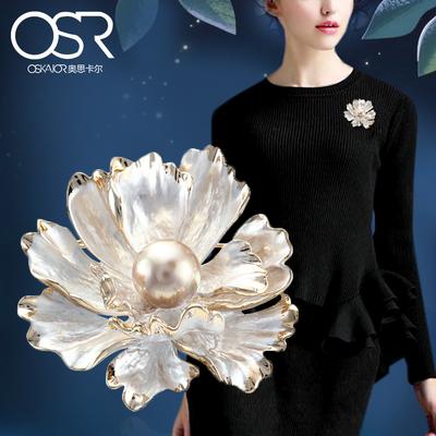 高档中国风牡丹胸针胸花