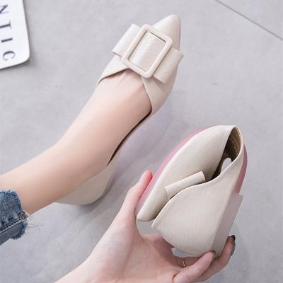 网红平跟单鞋