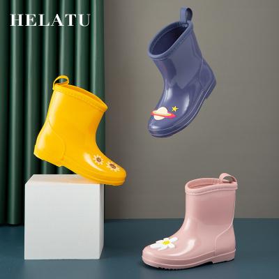 小孩水鞋兒童時尚雨鞋