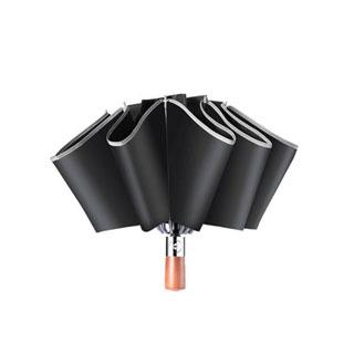 三折反光遮阳自动晴雨伞