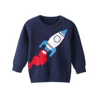 安奈儿男童针织衫