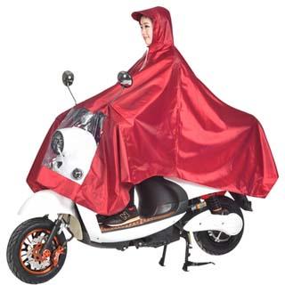 双防水电动车雨衣
