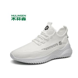 木林森飞织男鞋网鞋