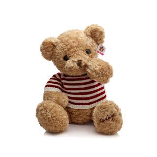 小熊毛绒玩具公仔