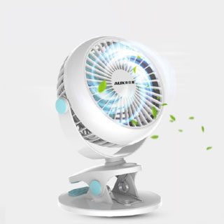 夹式可充电usb小风扇
