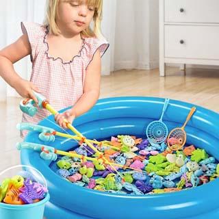 4件套儿童磁性钓鱼套装