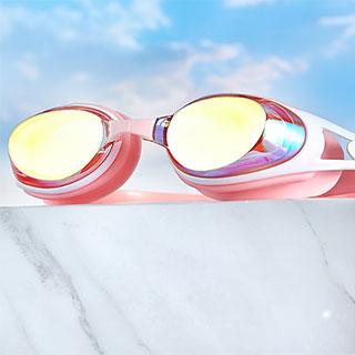 361防雾护目近视游泳眼镜