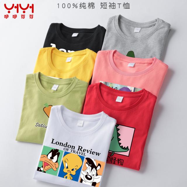 男童女童短袖t恤