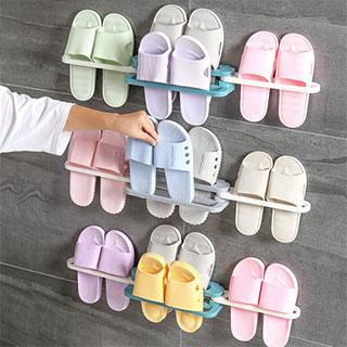 卫生间浴室可折叠鞋架