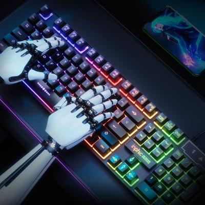 机械手感键盘鼠标套装