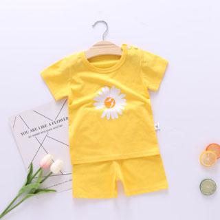 宝宝短袖纯棉两件套