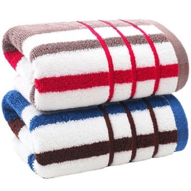 金号纯棉毛巾2条