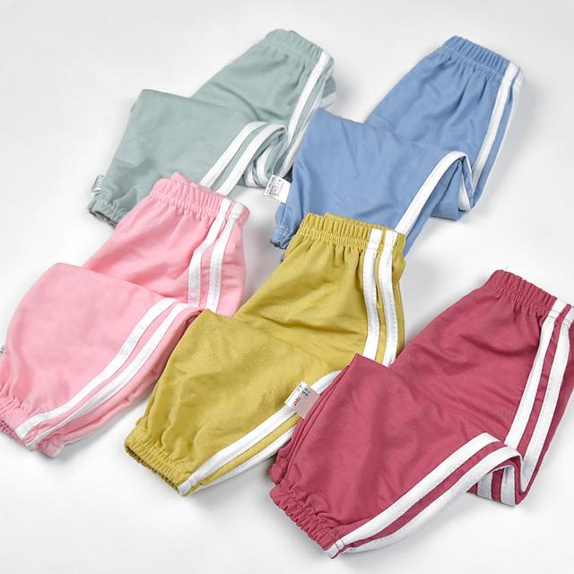 2条宝宝防蚊裤薄款休闲裤