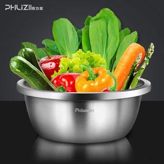 特厚食品级不锈钢盆子
