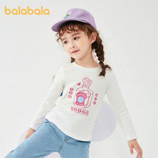 巴拉巴拉童装棉儿童t恤