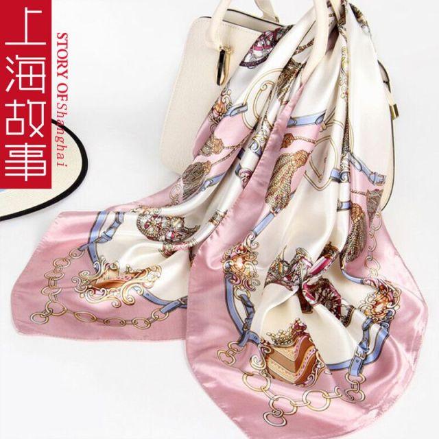 上海故事百搭丝巾礼盒装