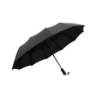 全自折叠加固晴雨三折伞