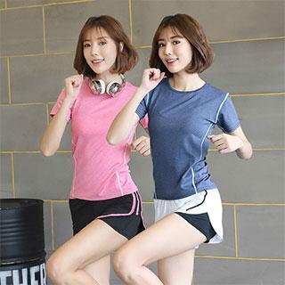 网红瑜伽服运动两件套