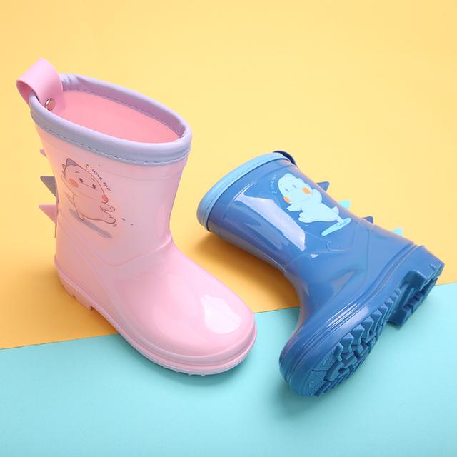 儿童雨鞋防滑防水胶鞋中