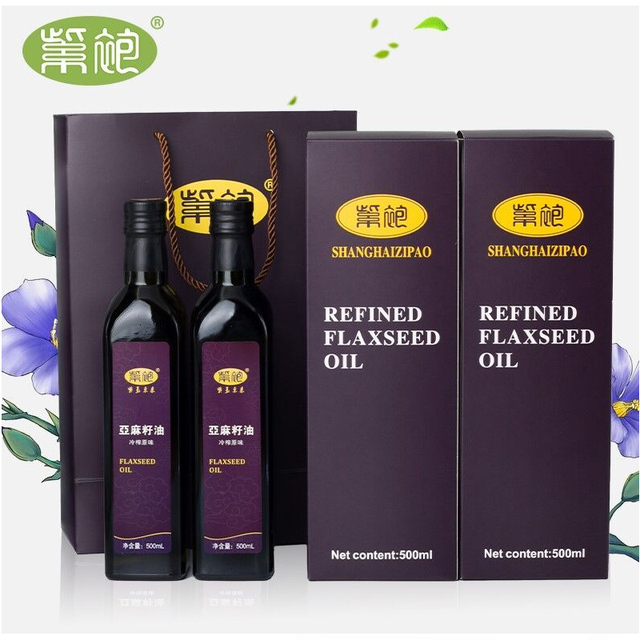 亞麻籽油天然食用油500ml