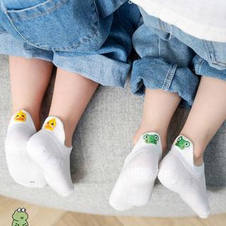 兒童春秋薄款短襪船襪