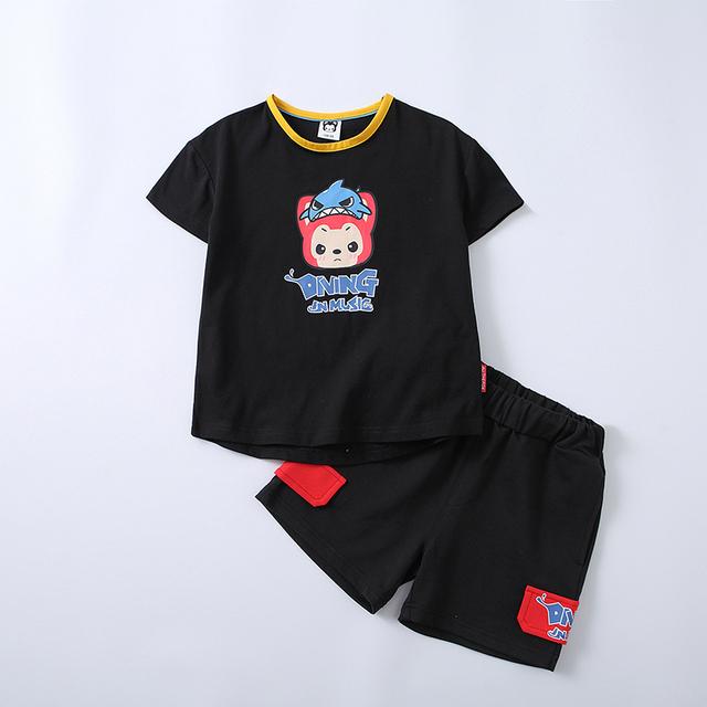 夏季兒童新款短袖