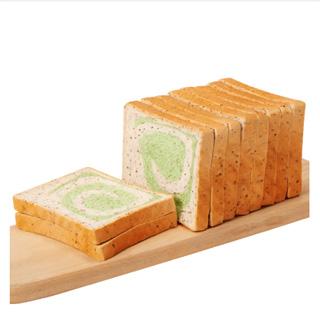 全麥抹茶奇亞籽面包500g