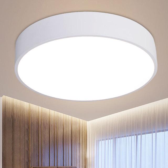 简约现代LED圆形吸顶灯