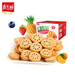 香果酱夹心饼干1000g