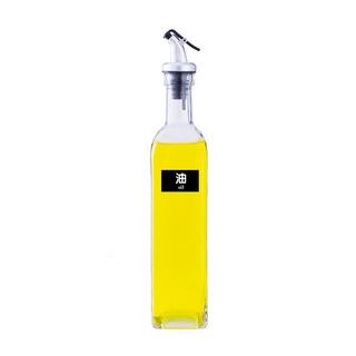 可控式玻璃防漏油瓶500ml