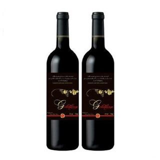 金利莎干红葡萄酒750ml*2支