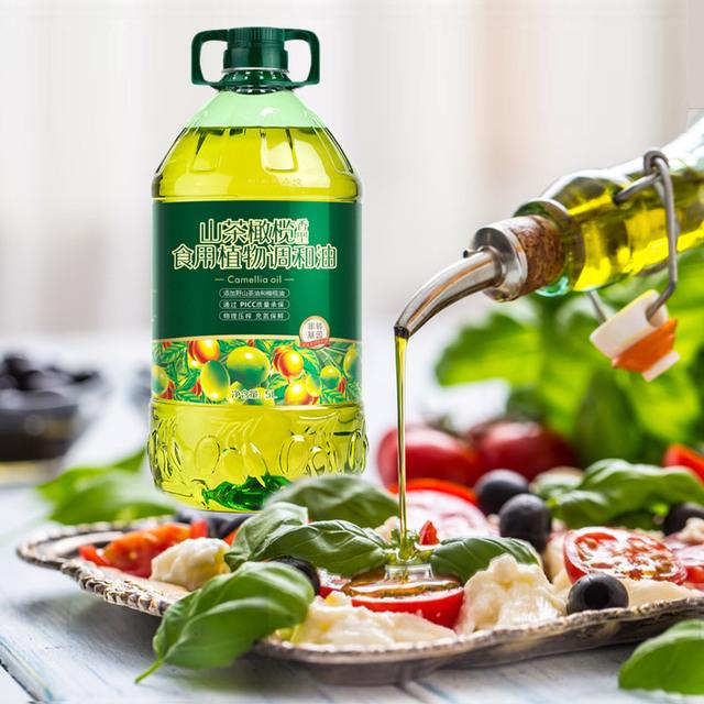 山茶橄榄营养食用油5L