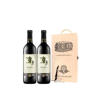 2瓶保罗菲儿干红葡萄酒